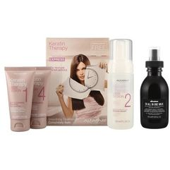 Alfaparf LD Keratin Therapy Smoothing Treatment Kit + Davines OI Oil All in One Milk 135ml