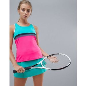 adidas Tennis Club Tank In Colourblock - Multi