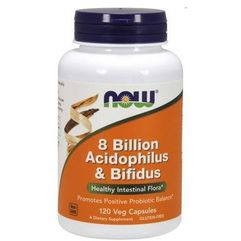 8 Billion Acidophilus & Bifidus 120 kaps.