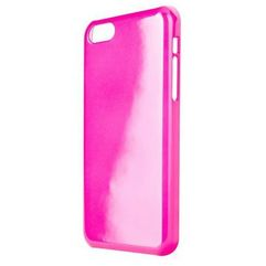Etui do apple iphone 5c iplate glossy różowy marki Xqisit