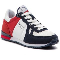 Pepe jeans Sneakersy - sydney basic ss19 pbs30391 red 225