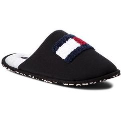 Kapcie TOMMY HILFIGER - Terry Flag Homeslipper FM0FM01789 Black 990