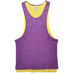 podkoszulka K1X - Authentic Double Layer Yellow/Purple (2408), kolor żółty