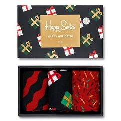 - skarpetki giftbox christmas melody (3-pack), Happy socks