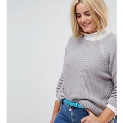 ring and bar pearl detail hip and waist belt - blue marki Asos curve