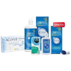 ACUVUE OASYS 6 szt. + płyn Complete RevitaLens 360 ml + krople Blink Contacts + płyn 120 ml