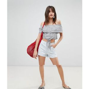roll up denim shorts - blue marki Vero moda