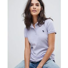 Abercrombie & Fitch Classic Polo Shirt - Purple