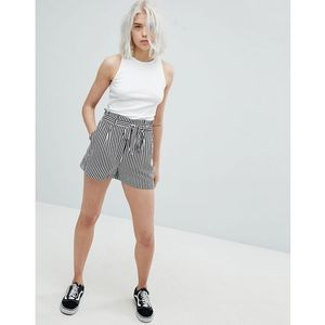 Pull&Bear Tie Waist Relaxed Shorts - Multi