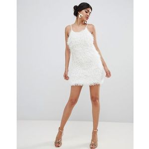 Glamorous tinsel cami dress - white