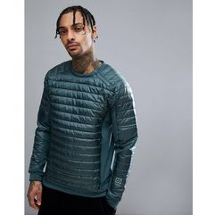 66 North Oxi Powerstretch Crew Neck Sweater In Green - Green