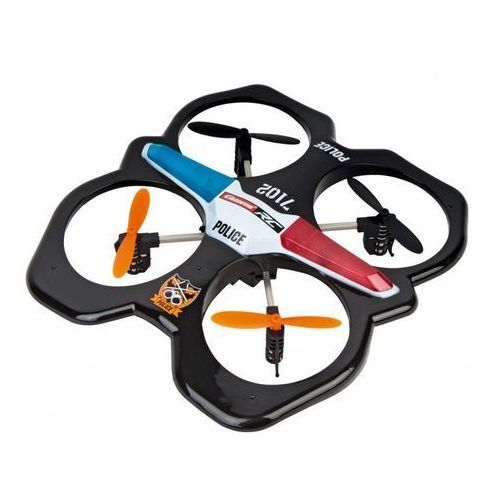 RC Quadrocopter Police