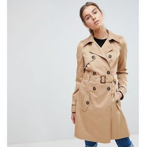 Asos tall classic trench coat - stone