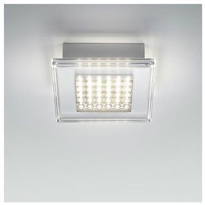 Fabbian Quadriled-plafon led do łazienki metal & méthacrylate dł.40cm (3663710024277)