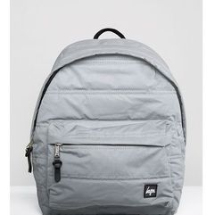 Hype exclusive reflective padded backpack - silver