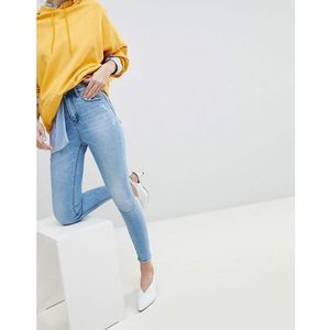 super high waist skinny jean - blue marki Stradivarius