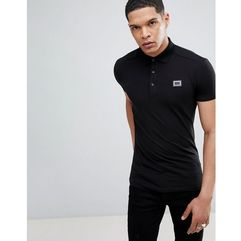 polo shirt in black - white, Antony morato, S-XL