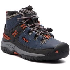 Trekkingi KEEN - Targhee Mid Wp 1019835 Blue Nights/Rooibos Tea, kolor niebieski