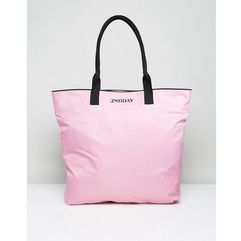 2NDDAY Nylon Shopper Bag - Pink, kolor różowy