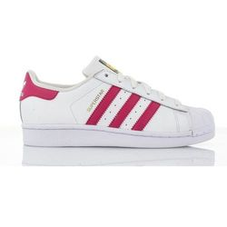 adidas Originals SUPERSTAR FOUNDATION Tenisówki i Trampki white/bold pink, ILC87