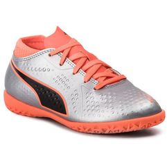 Puma Półbuty - one 4 syn it jr 104783 01 silver/orange/black