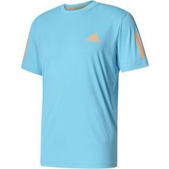 koszulka club tee samba blue /glow orange xl marki Adidas