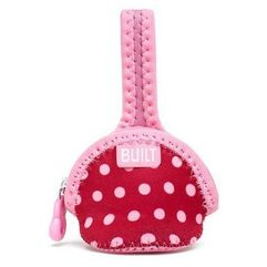 paci-finder - pokrowiec na smoczek (baby pink mini dots) marki Built