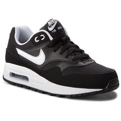 Nike Buty - air max 1 (gs) 807602 001 black/white