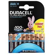 Duracell Baterie ultra power aaa 8szt. (5000394063488)