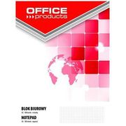 Blok biurowy , a5, w kratkę, 100 kart., 70gsm marki Office products