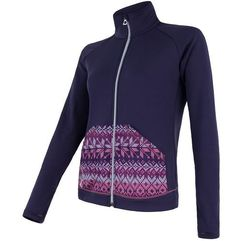 Sensor bluza tecnostretch pattern w purple l (8592837049533)