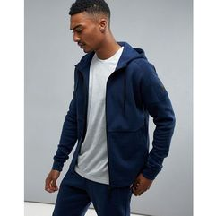 adidas Athletics Stadium Full Zip Hoodie In Navy B45728 - Navy
