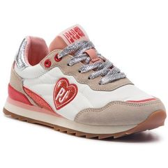 Pepe jeans Sneakersy - belle hearth pgs30388 white 800