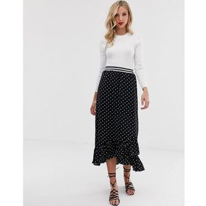 spotty wrap skirt - multi, Vero moda, 34-42