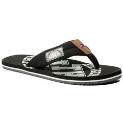 Japonki TOMMY HILFIGER - Essential Th Beach Sandal FM0FM01369 Black 990, kolor czarny