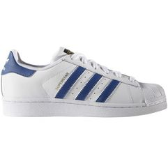 adidas Originals SUPERSTAR FOUNDATION Tenisówki i Trampki white/blue, ILC87