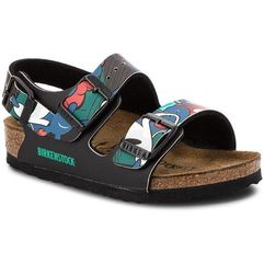Birkenstock Sandały - milano kinder 1010486 pop mickey black