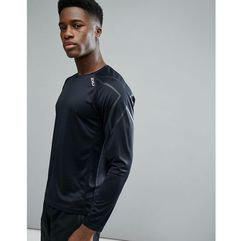 running active long sleeve top in black mr5158a-blk - black, 2xu