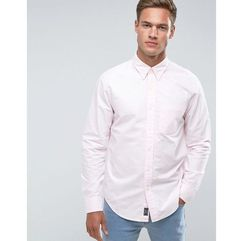 Abercrombie & Fitch Oxford Shirt Slim Fit in Pink - Pink