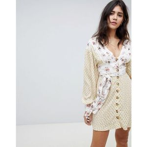 Free People Wonderland mini dress - Cream