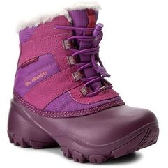Śniegowce COLUMBIA - Childrens Rope Tow II Waterproof BC1323 Northern Light/Melonade 578