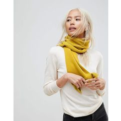 French Connection Oversized Scarf - Yellow