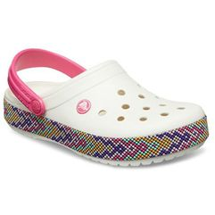 Buty Crocs Crocband Gallery Clog Kids 205171 OYSTER