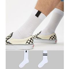 Asos design sports socks with tab 2 pack - multi