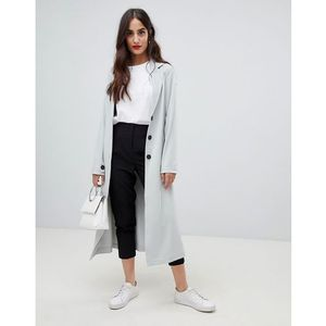 Y.a.s tie waist duster coat - grey