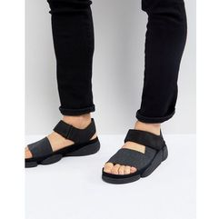 Clarks Originals Trigenic Evo Leather Sandals - Black, kolor czarny