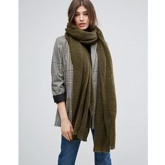 oversized long knit scarf - green marki Asos