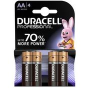 Duracell Baterie professional aa 4szt.