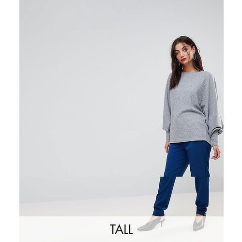 Y.A.S Tall Tailored Trouser - Blue