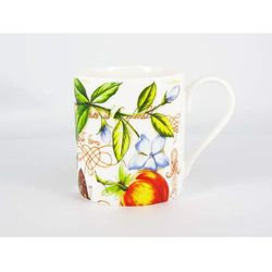 Balmoral White Mug - Manuscript Apple